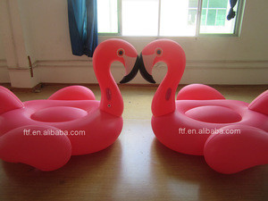 SZ ZHN inflatable pink flamingo water play equipment