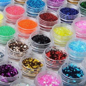 Wholesale Customized Color sequins Cosmetic Face Body Glitter Powder