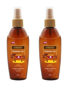 Wholesale SPF 4 8 Natural Extract Body Oil Tanning Oil