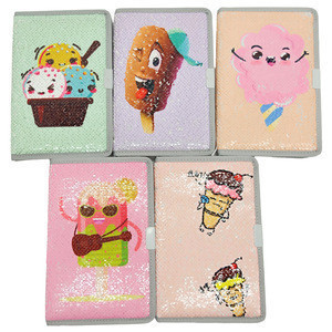 Wholesale stationery school supplies sequins creative kids stationery