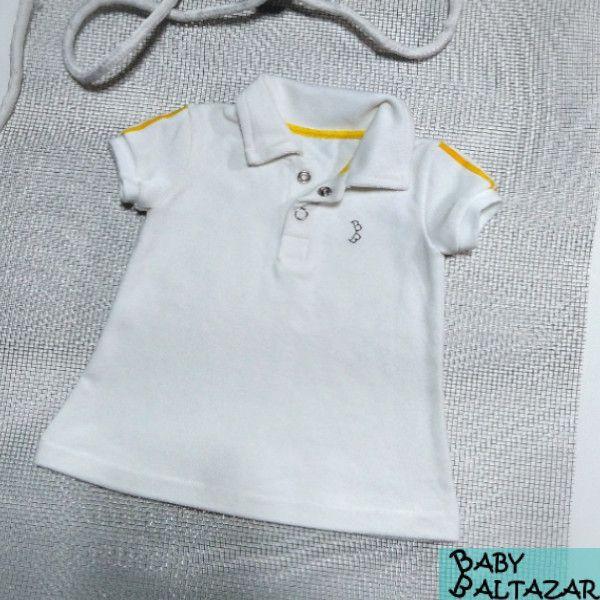 Yellow stripe Polo Dress