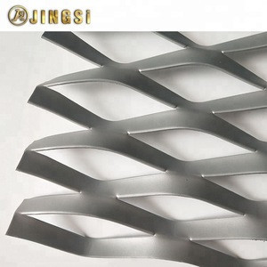 0.3mm-8mm thickness Decorative Hot Dip Galvanized Steel /Aluminium Expanded Metal Wire Mesh Factory Price