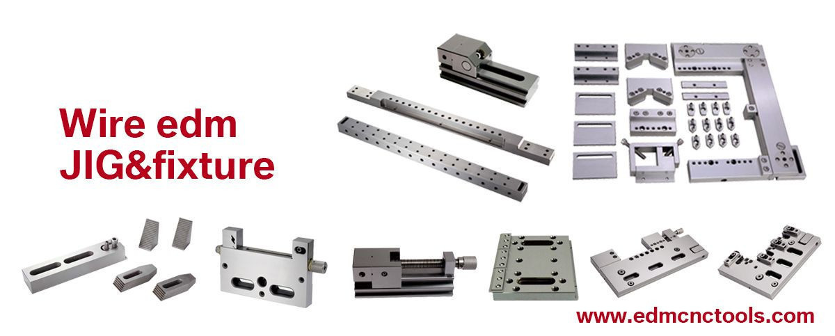Wire edm fixture jig vise or comsumables from shenzhen factory