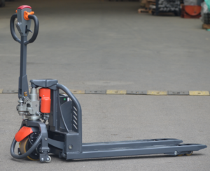 1500kg 1.5ton Lithium Battery Powered Electric Pallet Truck with good price