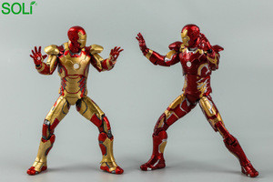2 Style Joint Movable  Marvel Toy Ironman Action Figure