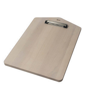 A4 wooden Clipboard made out from Ash wood with wash-based painting