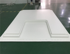 Anti-UV ABS car roof box,ABS plastic cover,vacuum forming large plastic tray