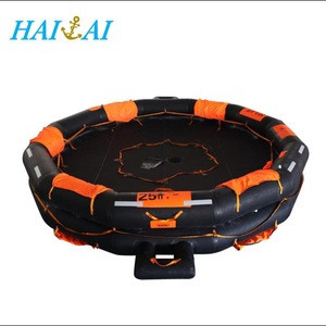 AOR SOLAS Approved Neoprene coated fabric Inflatable Life Raft in Lifesaving