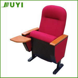 Back tablet soft auditorium chair distributor press conference seats JY-605R