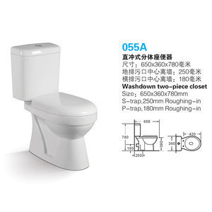 Import Bathroom Fittings Two Piece Ceramic Sanitary Ware Wc Toilet From China Find Fob Prices Tradewheel Com