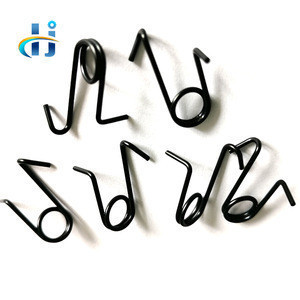 Black Powder Coated Spring Steel Extension/Linear/Coil Spring, Custom Made Stainless Steel Coil Spring Extension Linear Spring