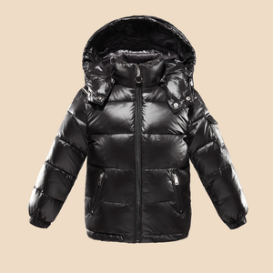 Cheap blue jacket with air conditioning/childrens winter coats