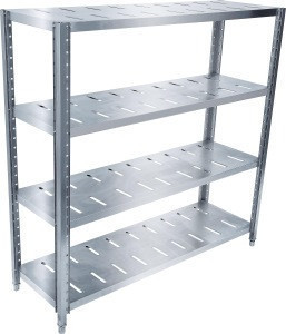Commercial stainless steel 4 layer storage rack