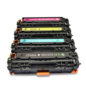 Compatible Toner Cartridge CF400A CF401A CF402A CF403A For HP Laser Printer  Pro M252dw MFP M277c6