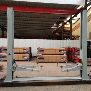 Floor plate 4 ton 2 post car lift for sale two post hydraulic car lift