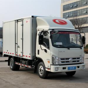 Forland H3 4.1Meters 1.5 Tons Diesel Fuel Light Commercial Delivery Dry Cargo Van Trucks Price