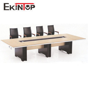 Import Foshan Luxury Modular Home Furniture Round 20 Person Small Wooden Meeting Room Modern Conference Office Table From China Find Fob Prices Tradewheel Com