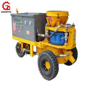 Gaodetec high efficient mining wet mix shotcrete machine for sale