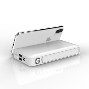 High Capacity LED Torch Built-in Cable Power Banks 20000mah