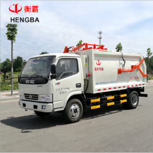 High quality Diesel compactor garbage truck sanitation truck for sale