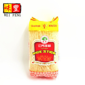 Hot Sale Brands Wholesale Price 14 oz Dry Glass Noodles Vermicelli Chinese stick Dried Rice Noodle
