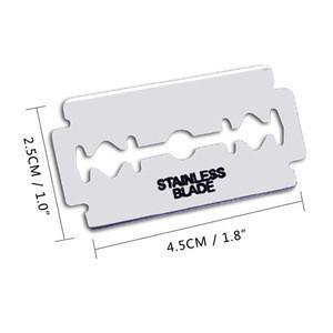 Hot sell classic sharp safety stainless steel men's shaving double edge razor blade
