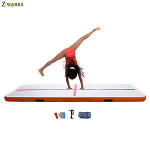 Inflatable water floating mats air mat gymnastics