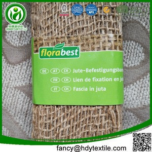 Jute factory china biodegradable eco friendly 1 ply jute rope fiber