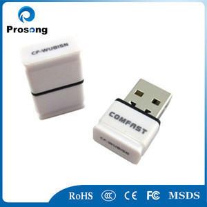Mini wireless adapter comfast CF-WU815N ralink 5370 wifi 802.11b g n 150Mbps usb2.0 latest wireless network card