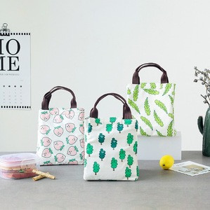 New design Hand-held Lunch Tote Bag / Travel Picnic Cooler / Insulated Handbag Lunch Bag