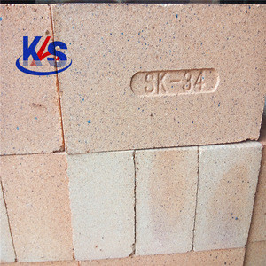 New refractory material high alumina refractory brick 75 mm thickness