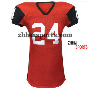 New Sublimated Printed Custom American Football Wears High Quality Team Sports