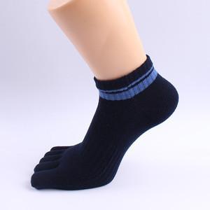 Socks Men Sport Breathable Cotton Five toes Ankle Socks