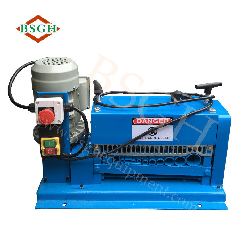 Super quality Automatic Electric Cable cutting Peeling/Used cable Stripping Machine/Wire Stripper machine BS-015M