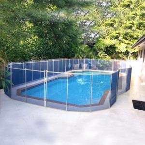Wholesale Temporary Folding Inground Swimming Pool Safety Mesh Fence