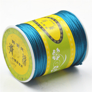 YDS No.7 Korean silk thread 1.5mm colored nylon thread for Baby Pacifier Chain/Teething Bracelet Making 100m/roll