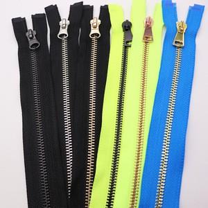 Zipper #5 metal zipper making machine high quality metal zipper for jacket