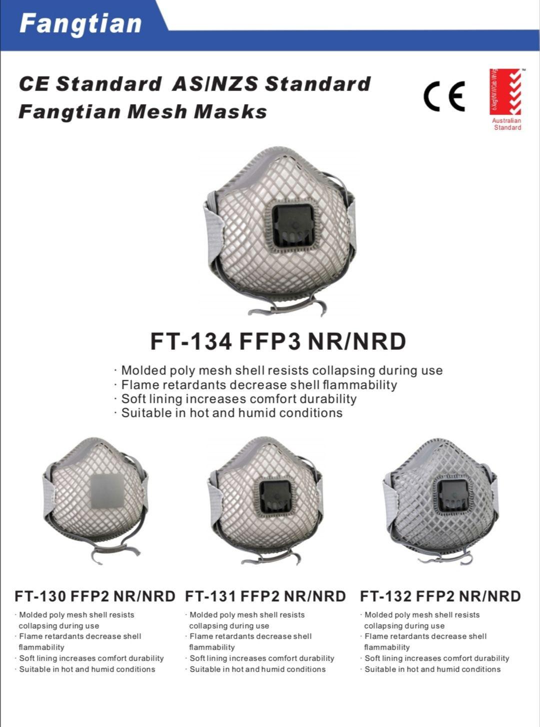 FT-134/130/131/132 FFP2/3 NR/NRD