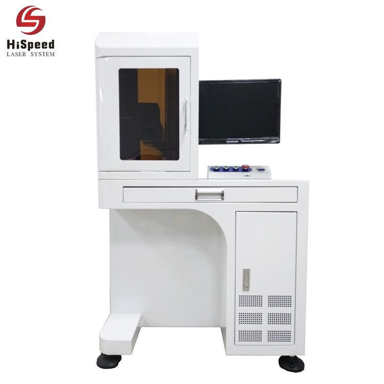 Import HiSpeed Table Type Fiber Laser Marking Machine 20W,30W,50W,60W,100W from China