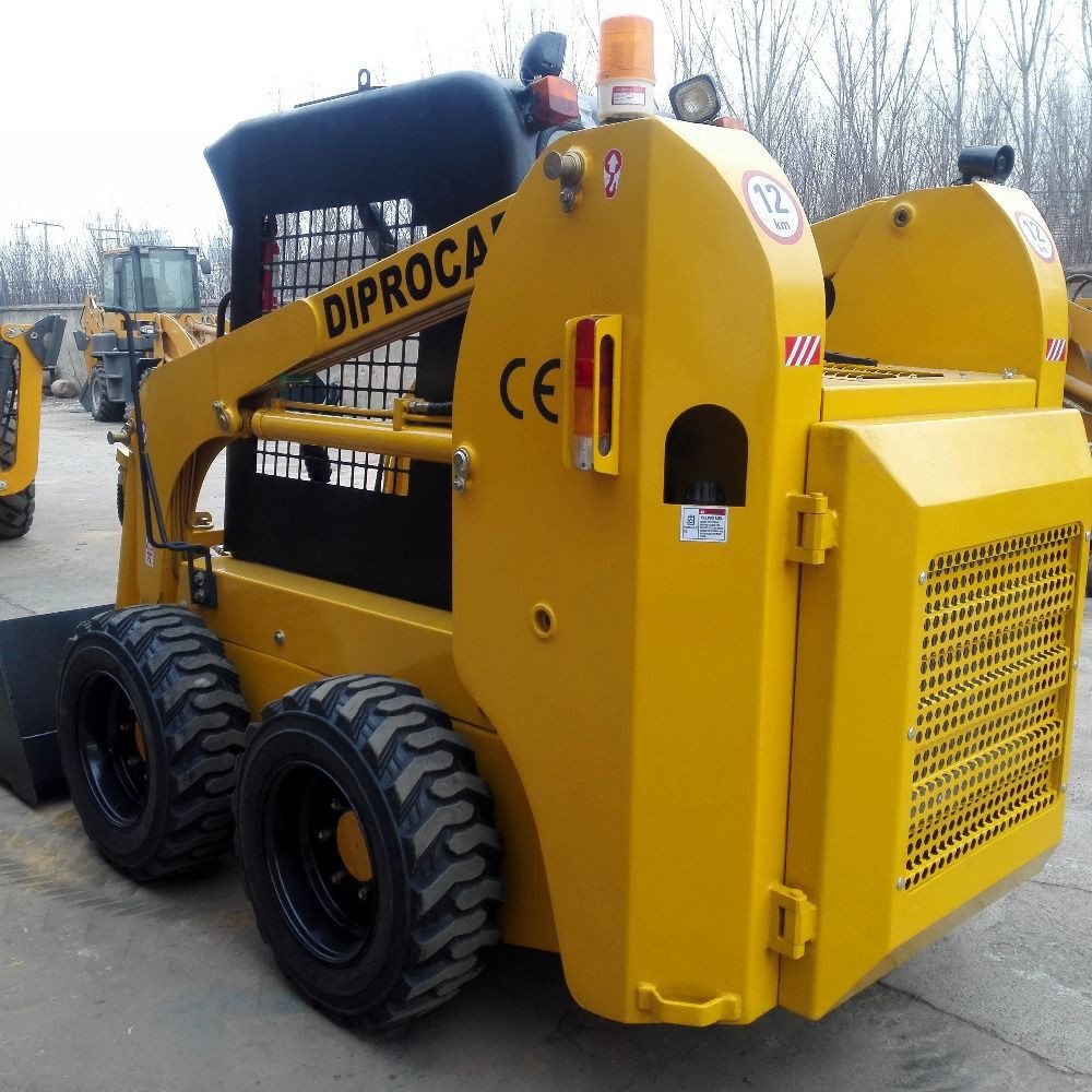 China mini track skid steer loader with perkins diesel engine