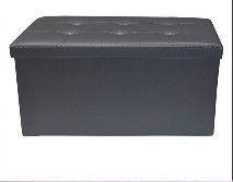 Grey Puff box footrest