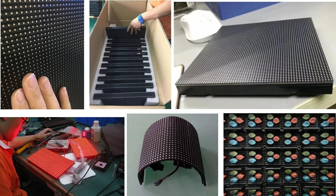 RGB Full Color SMD & DIP LED Modules from p0.9 to p16 indoor and outdoor