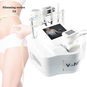 5 handle fat burning face slimming rf vacuum therapy cavitation slim body beauty equipment