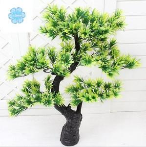 Attractive decorative artificial podocarpus landscaping podocarpus bonsai tree