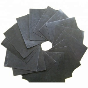 Black color HDPE 2.0mm smooth geosynthetic clay liner for landfill project with high yield strength