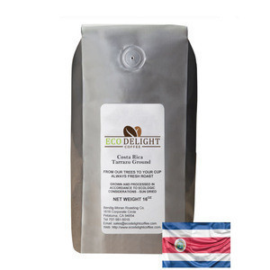 Costa Rica Tarrazu Medium Roast ground coffee