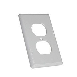 Duplex Wall Plates Kit Home Electrical Outlet Cover 1-Gang 2-Gang Standard Size Receptacle Faceplates Covers