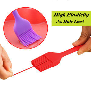 FDA Approved Heat Resistant Pastry Baking Brush Silicone Oil Brush