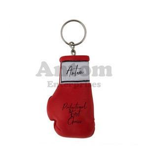 Glove Key Ring /  Miniature Boxing Glove Keychain Made by Antom Enterprises