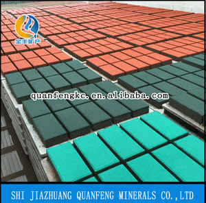 Heat resistance Inorganic iron oxide pigments for brick